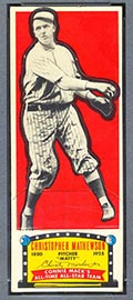 1951 Topps Connie Mack All-Stars Christy Mathewson New York Giants - Front