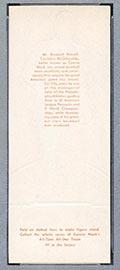 1951 Topps Connie Mack All-Stars Connie Mack Philadelphia Athletics - White Back