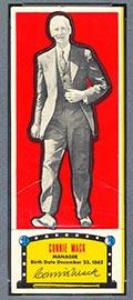 1951 Topps Connie Mack All-Stars Connie Mack Philadelphia Athletics - Front