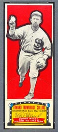 1951 Topps Connie Mack All-Stars Eddie Collins Chicago White Sox - Front