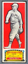 1951 Topps Connie Mack All-Stars Grover Alexander St. Louis Cardinals - Front