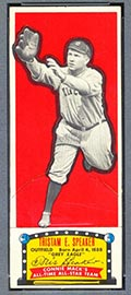 1951 Topps Connie Mack All-Stars Tris Speaker Cleveland Indians - Front