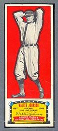 1951 Topps Connie Mack All-Stars Walter Johnson Washington Senators - Front