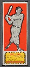 1951 Topps Major League All-Stars Bob Lemon Cleveland Indians - Front