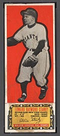 1951 Topps Major League All-Stars Ed Stanky New York Giants - Front
