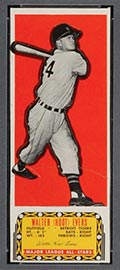 1951 Topps Major League All-Stars Hoot Evers Detroit Tigers - Front