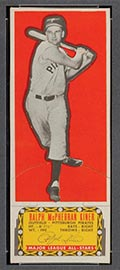 1951 Topps Major League All-Stars Ralph Kiner Pittsburgh Pirates - Front