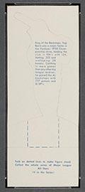 1951 Topps Major League All-Stars Yogi Berra New York Yankees - Back