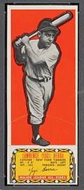 1951 Topps Major League All-Stars Yogi Berra New York Yankees - Front