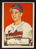 1952 Topps #10 Al Rosen Cleveland Indians - Front