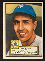 1952 Topps #11 Phil Rizzuto New York Yankees - Front