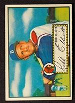1952 Topps #14 Bob Elliott Boston Braves - Front