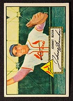 1952 Topps #19 Johnny Bucha St. Louis Cardinals - Front