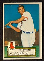 1952 Topps #23 Billy Goodman Boston Red Sox - Front