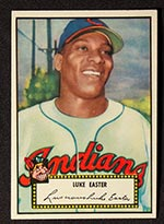 1952 Topps #24 Luke Easter Cleveland Indians - Front