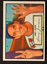 1952 Topps #5 Larry Jansen New York Giants - Front