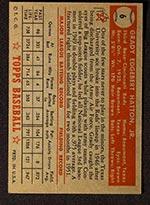 1952 Topps #6 Grady Hatton Cincinnati Reds - Red Back