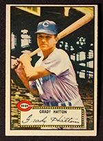 1952 Topps #6 Grady Hatton Cincinnati Reds - Front