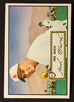 1952 Topps #8 Fred Marsh St. Louis Browns - Front
