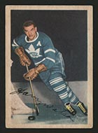 1953-1954 Parkhurst #12 Harry Watson Toronto Maple Leafs - Front