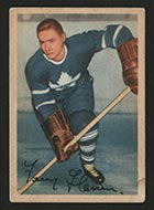 1953-1954 Parkhurst #14 Fern Flaman Toronto Maple Leafs - Front