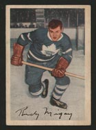 1953-1954 Parkhurst #17 Rudy Migay Toronto Maple Leafs - Front