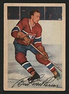 "1953-1954 Parkhurst #22 ""Bud"" MacPherson Montreal Canadiens - Front"