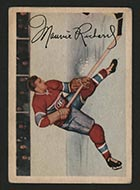 1953-1954 Parkhurst #24 Maurice Richard Montreal Canadiens - Front