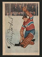 1953-1954 Parkhurst #25 Gerry McNeil Montreal Canadiens - Front