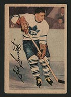 1953-1954 Parkhurst #2 Sid Smith Toronto Maple Leafs - Front