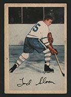 1953-1954 Parkhurst #5 Tod Sloan Toronto Maple Leafs - Front
