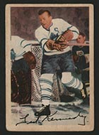 "1953-1954 Parkhurst #7 Theodore ""Teeder"" Kennedy Toronto Maple Leafs - Front"