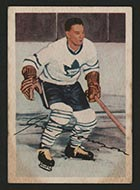 1953-1954 Parkhurst #8 Jim Thomson Toronto Maple Leafs - Front