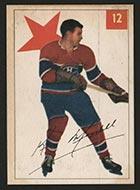1954-1955 Parkhurst #12 Ken Mosdell Montreal Canadiens - Front