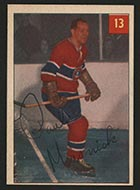 1954-1955 Parkhurst #13 Paul Masnick Montreal Canadiens - Front