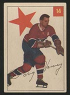 1954-1955 Parkhurst #14 Doug Harvey Montreal Canadiens - Front