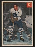 1954-1955 Parkhurst #17 Harry Watson Toronto Maple Leafs - Front