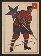 1954-1955 Parkhurst #7 Maurice Richard Montreal Canadiens - Front