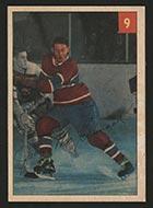 1954-1955 Parkhurst #9 John McCormack Montreal Canadiens - Front