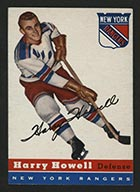 1954-1955 Topps #3 Harry Howell New York Rangers - Front