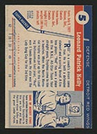 "1954-1955 Topps #5 ""Red"" Kelly Detroit Red Wings - Back"