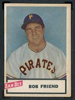 1954 Dan-Dee Potato Chips Bob Friend Pittsburgh Pirates - Front