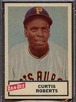 1954 Dan-Dee Potato Chips Curtis Roberts Pittsburgh Pirates - Front