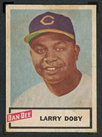 1954 Dan-Dee Potato Chips Larry Doby Cleveland Indians - Front