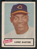 1954 Dan-Dee Potato Chips Luke Easter Cleveland Indians - Front