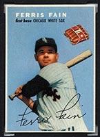 1954 Wilson Franks Ferris Fain Chicago White Sox - Front