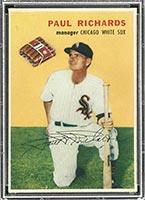 1954 Wilson Franks Paul Richards Chicago White Sox - Front