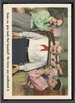 1959 Fleer Three Stooges #10 We know you have it - Front