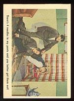 1959 Fleer Three Stooges #11 Needling Moe - Front