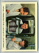 1959 Fleer Three Stooges #14 X-Ray - Front